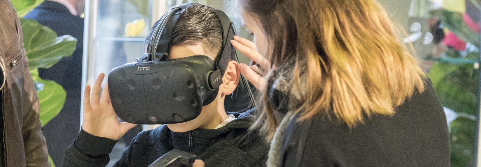 HTC Vive VR-bril
